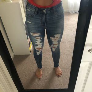 American Eagle high rise next level stretch jeans